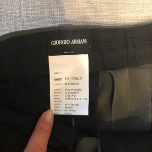 GIORGIO ARMANI Black Label men's pants size 34
